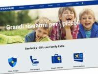 Ryanair offerta Family Extra