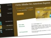 American Express Millemiglia Alitalia