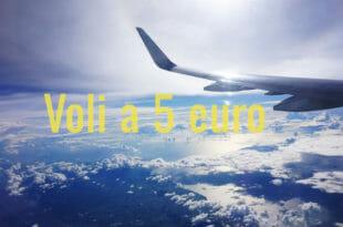 Voli a 5 euro, come trovarli